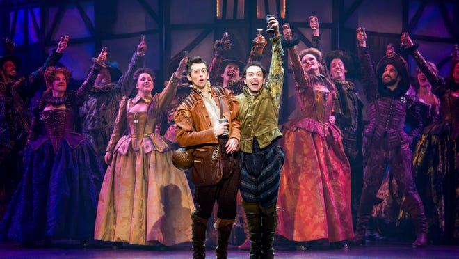 """Something Rotten"" promises to be fresh, frolicking."