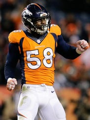 Broncos OLB Von Miller has been a headache for the