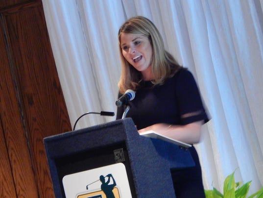 Jenna bush hager touts education, volunteer work