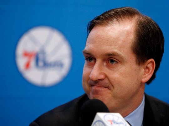 76ers general manager Sam Hinkie had a plan, but has had to adjust on the fly.