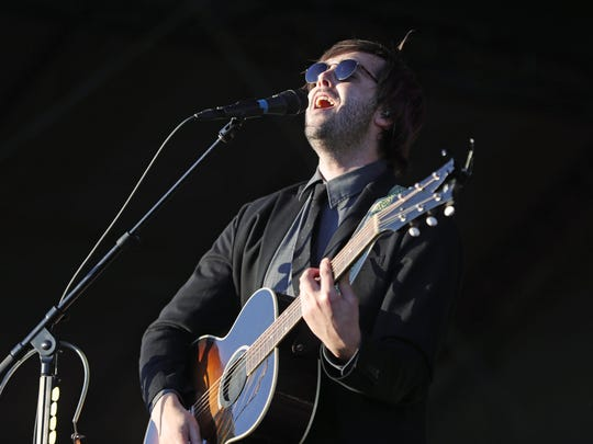 Lord Huron performs during the Innings Festival at