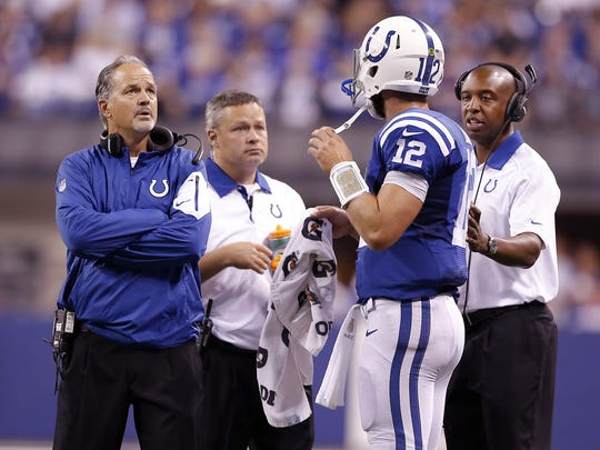 What happened to that high-powered Colts offense we were supposed to see in 2015?