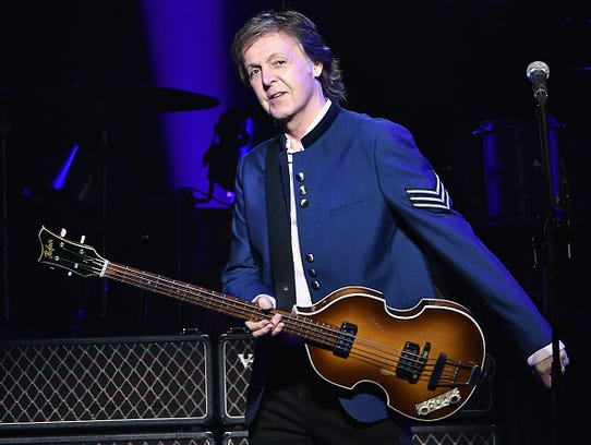 Paul McCartney performs in concert at American Airlines