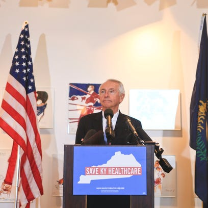 Former Gov. Steve Beshear announced Thursday a campaign