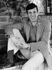 "FILE - In this Jan. 11, 1982 file photo, actor Leonard Nimoy poses for a photo in Los Angeles. Nimoy, famous for playing officer Mr. Spock in ""Star Trek"" died Friday, Feb. 27, 2015 in Los Angeles of end-stage chronic obstructive pulmonary disease. He was 83."