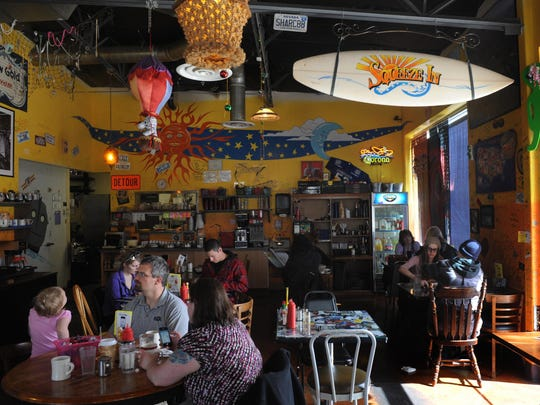 The northwest Reno Squeeze In restaurant is loaded