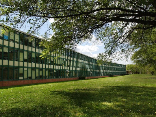 The north side wing at Parkview High School was renovated