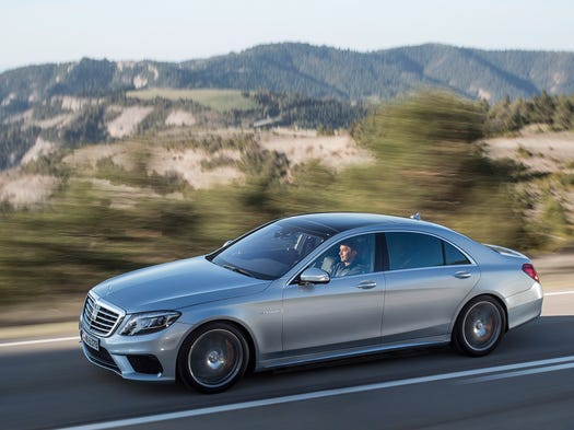 Mercedes benz s class lives up to high price for Mercedes benz highest price