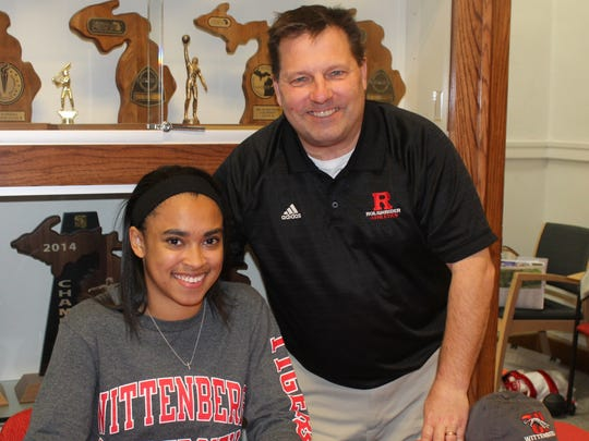 Roeper AD and head track coach Ed Sack believes standout student-athlete Alexis Johnson will excel at the college level.