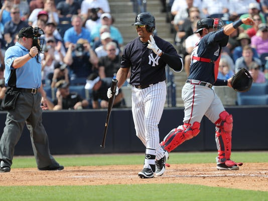 MLB: Spring Training-Atlanta Braves at New York Yankees