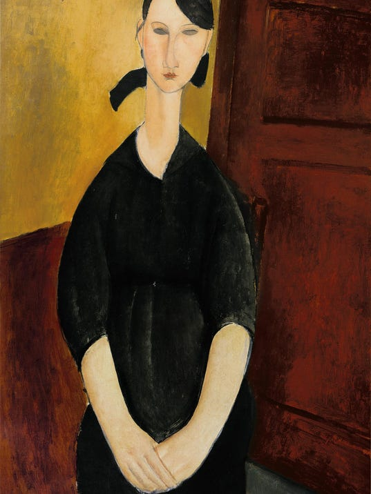 Modigliani_ Portrait_de_Paulette_Jourdain