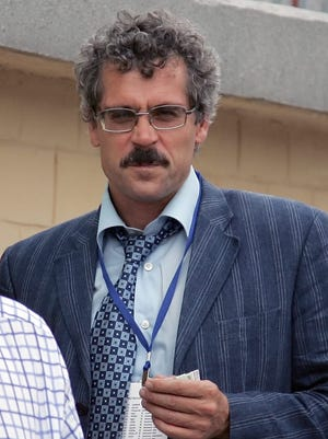 Former director of Russia's antidoping laboratory Grigory Rodchenkov in Moscow, Russia.