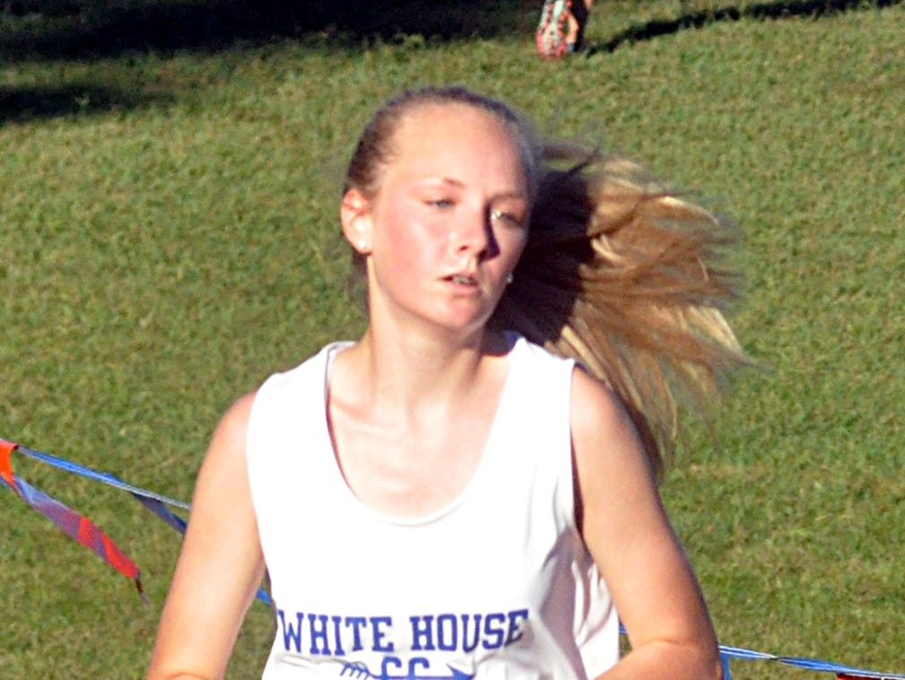 White House High freshman Autumn Allen finished 30th in Tuesday's Sumner County Championship cross country meet.