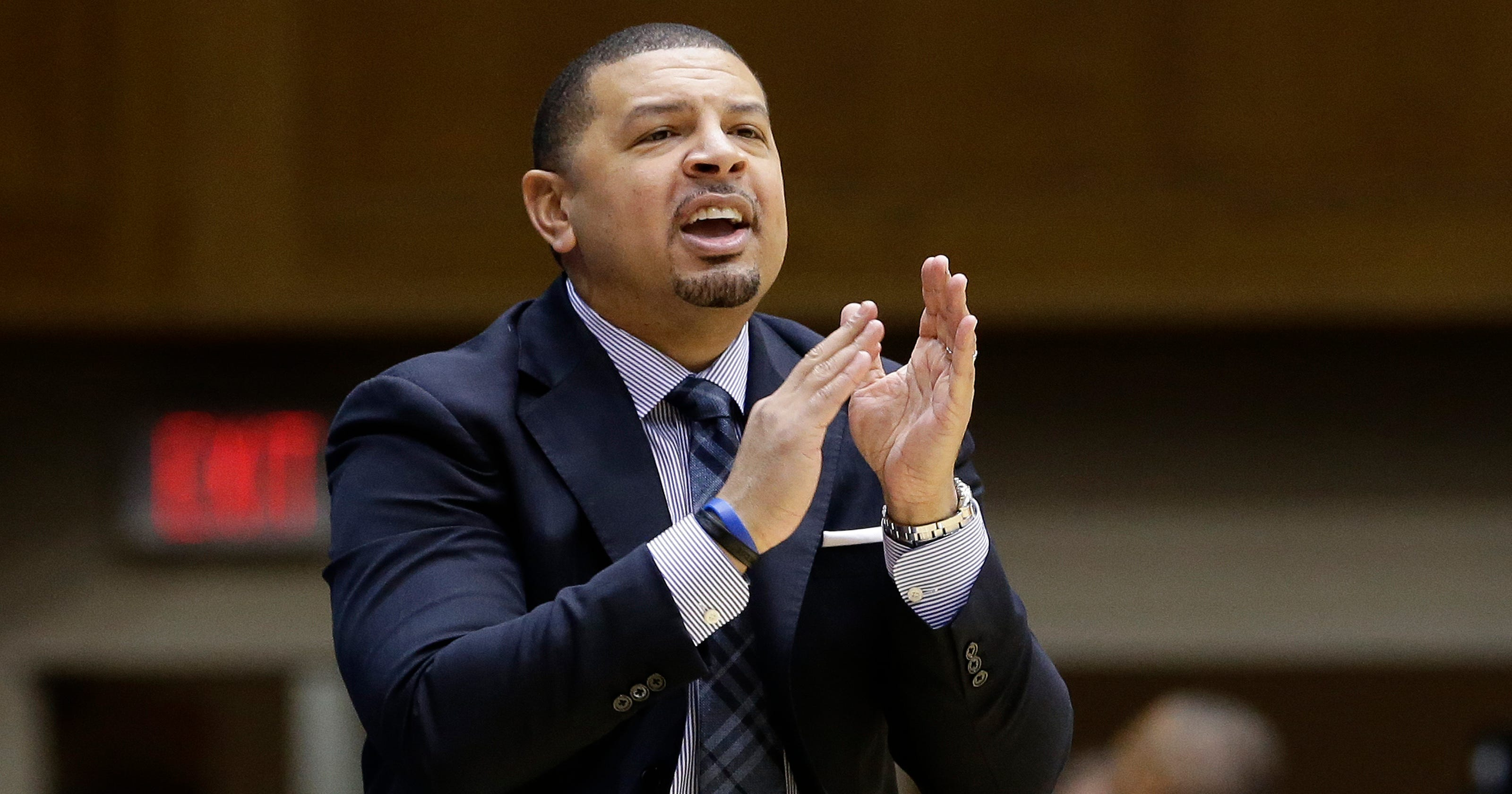 8d6315cb2569 Jeff Capel hired as Pittsburgh college basketball coach