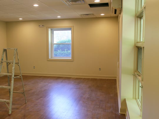 The Mount Saint Mary House of Prayer in Mountainside celebrates its 40th anniversary in 2016. Major renovations to the facility, such as this upgraded meeting room, are underway on August 24, 2016.