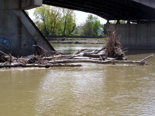 Heavy rains have kept the Chemung River and other area waterways high and muddy this spring.