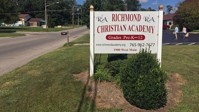 Richmond Christian Academy, a private school on the city's west side, won't be open for grades 1-12 this year.