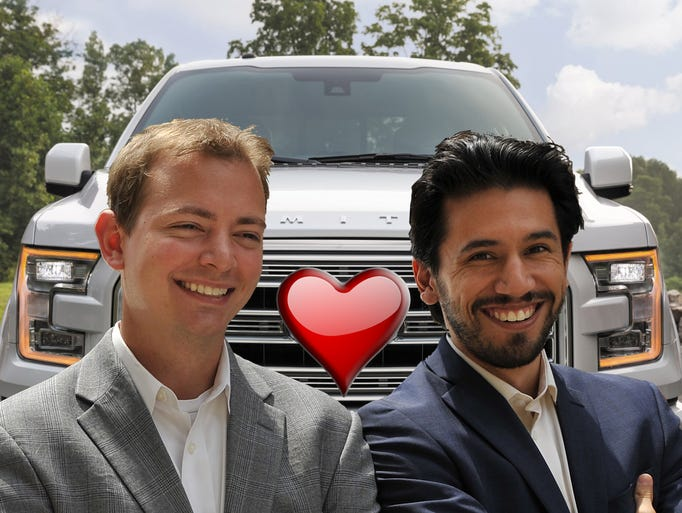 This Valentine's Day, the Mikes are sharing the motor