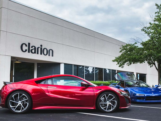 The Clarion NSX stop in Detroit in June was also a