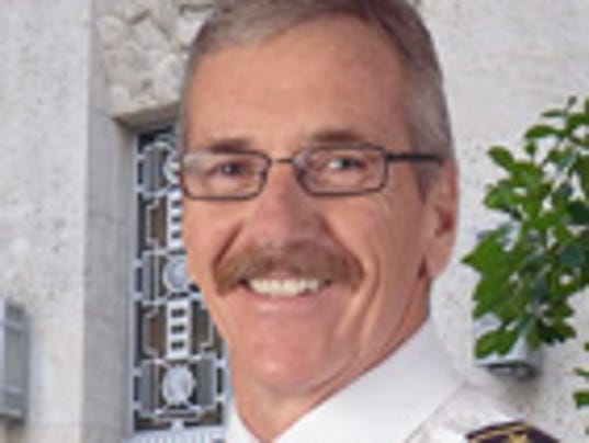 Glendale Fire Chief Terry Garrison