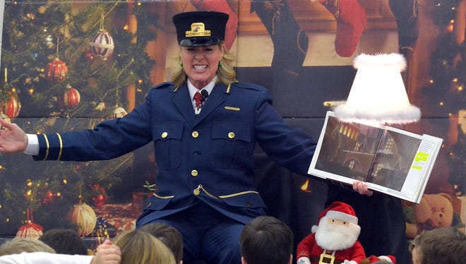 """Local storytellers will tell the story of """"The Polar Express"""" at York County libraries beginning Tuesday."""