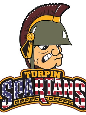 Here's the military Turpin High School logo for the new Veterans' Wall planned for the high school.