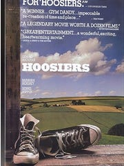 """Hoosiers"" was selected by a panel of sports writers as the top sports movie of all time."