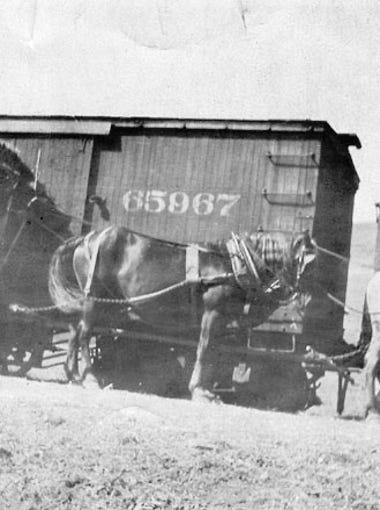 "1902: The Arizona Eastern Railway began to establish a rail line from Phoenix to Florence that went straight through what is now known as the Town of Gilbert. At the time,  Gilbert was predominately an agriculture community, known to many as the ""Hay Capital of the World"" until the late 1920s."