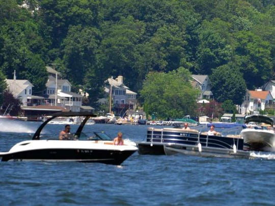 The high summer season is coming to Jefferson Township and the big attraction, as it has been for over 100 years, is the cooling waters of Lake Hopatcong.