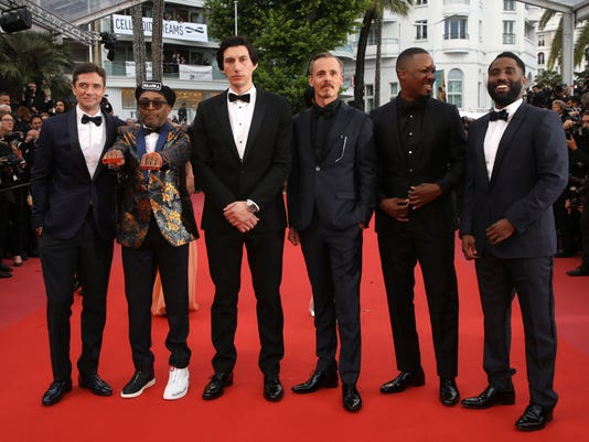 AP FRANCE CANNES 2018 BLACKKKLANSMAN RED CARPET I ENT FRA