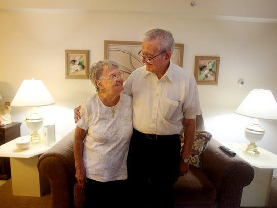 Joseph and Irene Buffamento of Nanuet celebrated their