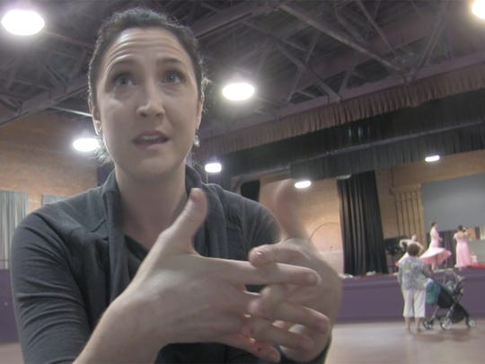 Betsy Druary McMillan has been helping train ballet students at the Alabama Dance Theatre this summer.