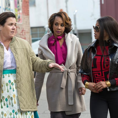 Characters played by guest stars Rosie O'Donnell, left,