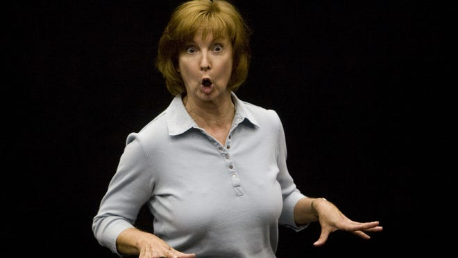 "Longtime Valley actor Cathy Dresbach, shown in a 2008 file photo, stars in the one-woman show ""Erma Bombeck: At Wit's End"" at Fountain Hills Theater."