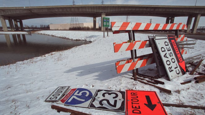 Zilwaukee Bridge file photo