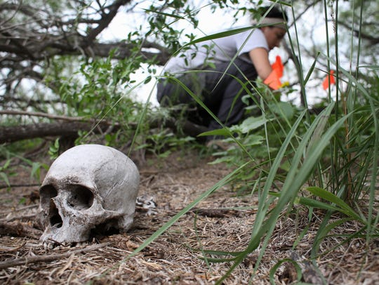 Mass graves of migrants found in Texas cemetery
