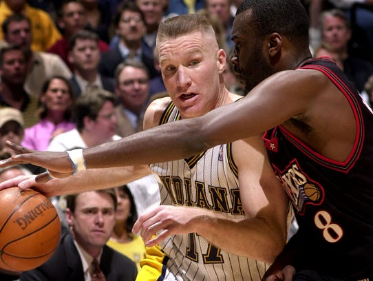 Chris Mullin played three seasons (1997-2000), averaging