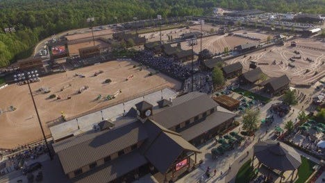 Emails and travel records show that Buncombe County's expenses related to the Tryon International Equestrian Center went beyond the $577,000 it spent on sponsorships and advertising to include out-of-state trips and a dinner reception at an upscale hotel.