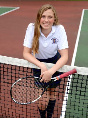 Abigail Plylar is the creator of the Love for Lungs Tennis Tournament.