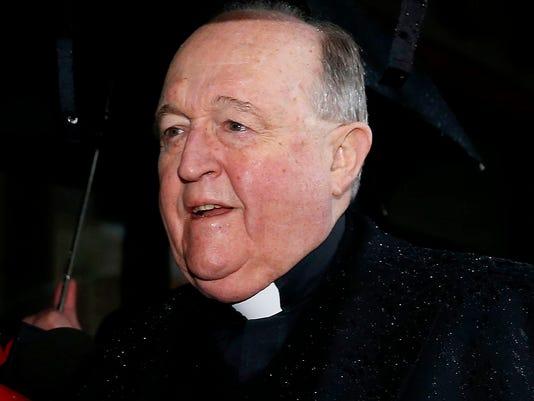 Adelaide Archbishop Philip Wilson