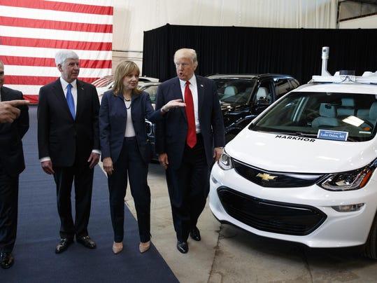 Donald Trump,Scott Pruitt,Mary Barra,Rick Snyder