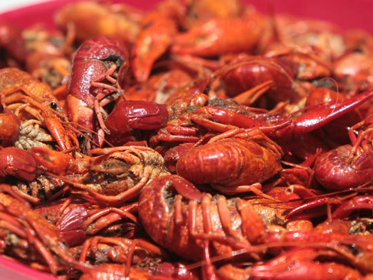Some of the Crab Fever menu items include crawfish, clams and mussels.