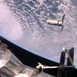 Space station accepts Virginia delivery