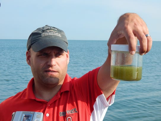 Tory Gabriel, Ohio Sea Grant fisheries outreach coordinator,