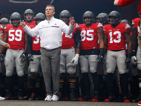 NCAA Football: Michigan at Ohio State