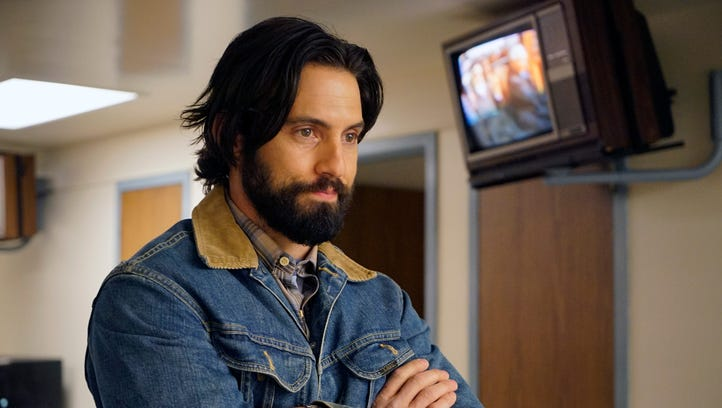 NBC's 'This is Us,' starring Milo Ventimiglia, continues to lead online chatter about new fall TV shows.