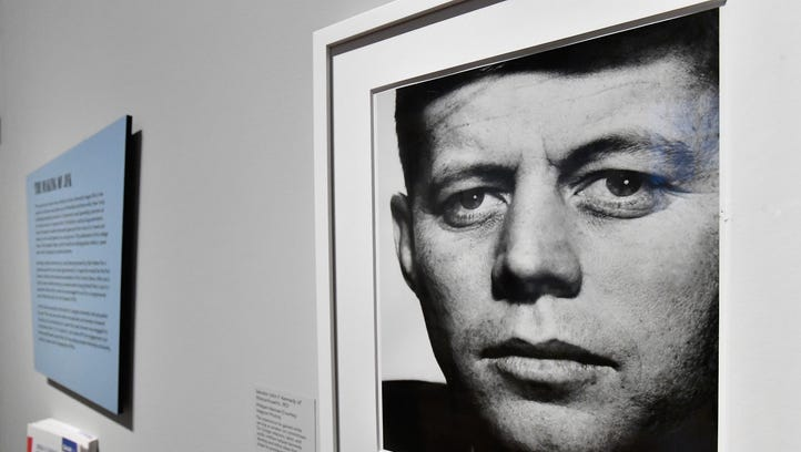 A portrait of President Kennedy in 'American Visionary: