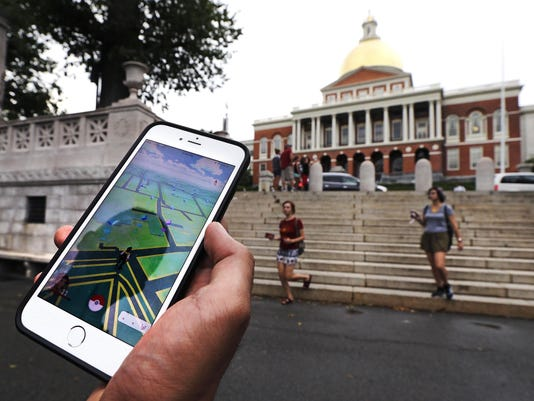 Pokemon Go-Discovering History