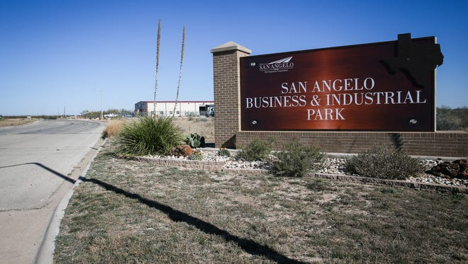 The San Angelo Business and Industrial Park located on Gateway Drive off FM 380.