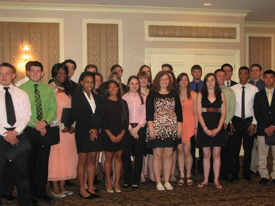 Local students were awarded scholarships from the business community today, Wednesday, May 21.